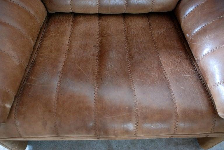 De Sede DS 86 Vintage Neck Leather Armchair 7