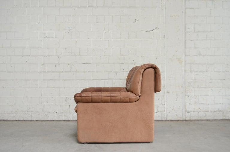 De Sede DS 86 Vintage Neck Leather Armchair For Sale 4