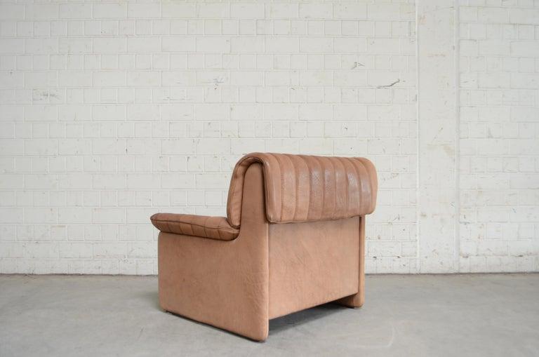 De Sede DS 86 Vintage Neck Leather Armchair For Sale 5