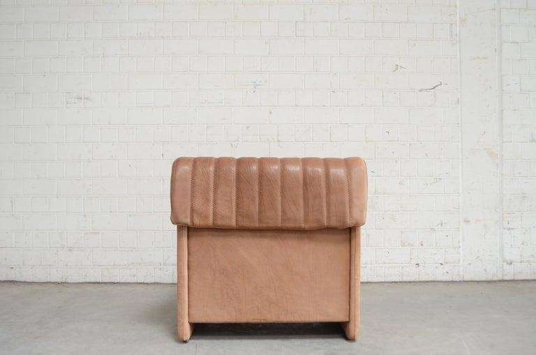 De Sede DS 86 Vintage Neck Leather Armchair For Sale 6