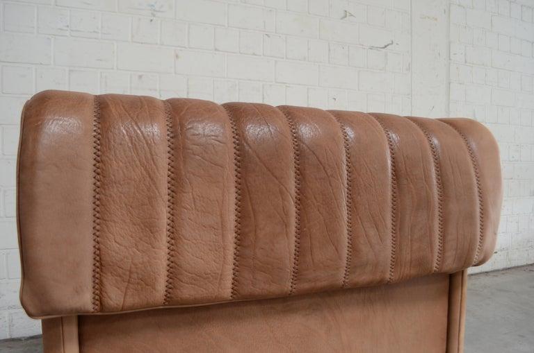 De Sede DS 86 Vintage Neck Leather Armchair For Sale 7