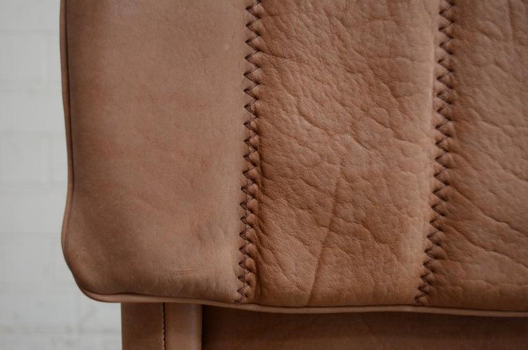 De Sede DS 86 Vintage Neck Leather Armchair For Sale 8