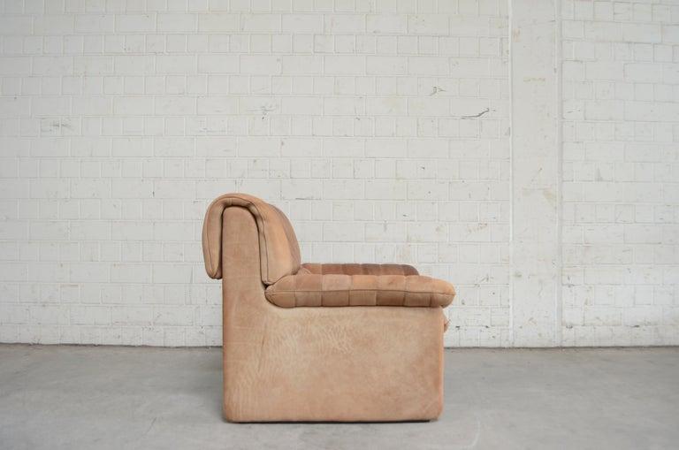 De Sede DS 86 Vintage Neck Leather Armchair For Sale 9