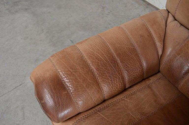 De Sede DS 86 Vintage Neck Leather Armchair For Sale 1