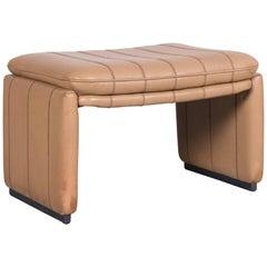 De Sede DS Leather Foot-Stool Cognac Brown Bench