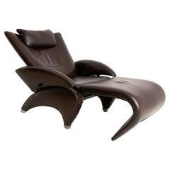 De Sede DS260 Recliner Armchair with Footstool