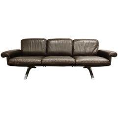 De Sede DS31 Sofa in Brown Leather, 1970s