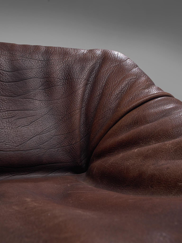 De Sede DS46 Modular Sofa in Brown Leather 2