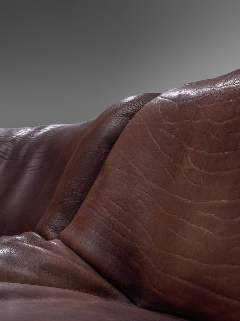 De Sede DS46 Modular Sofa in Brown Leather 3