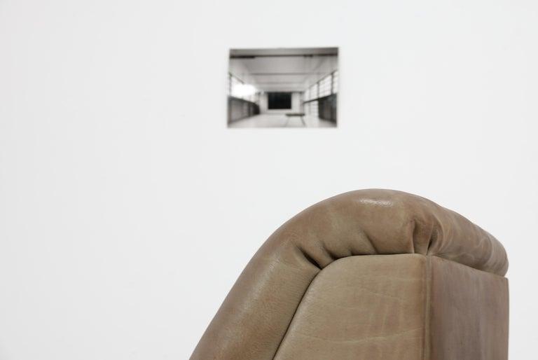 De Sede DS46 Sectional Sofa in Cognac Buffalo Leather 6