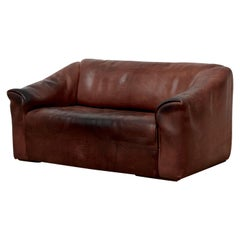 De Sede DS47 Buffalo Leather Love Seat