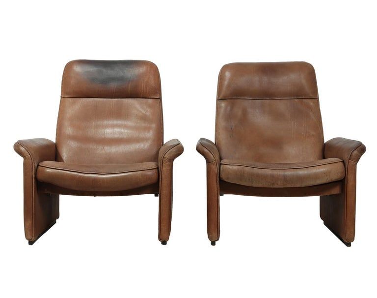 Desede DS50 in tan neck leather, circa 1960