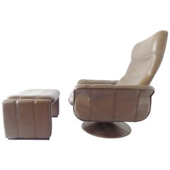De Sede DS50 Tulip Lounge Chair with Ottoman