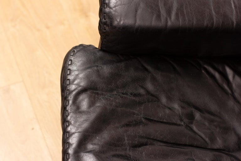 De Sede DS53 Leather Swivel Chair For Sale 4