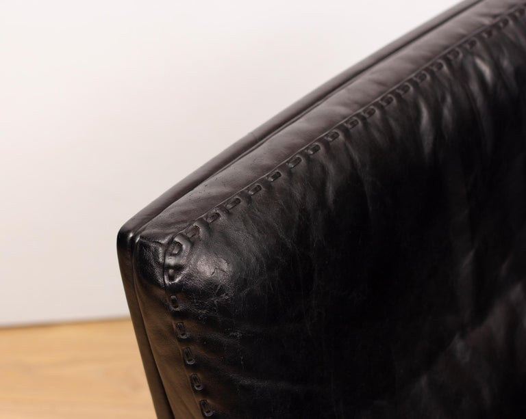 De Sede DS53 Leather Swivel Chair In Good Condition For Sale In Surbiton, GB
