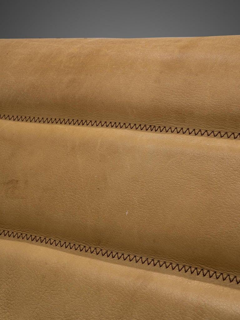 De Sede 'DS84' Settee in Naturel Buffalo Leather 4