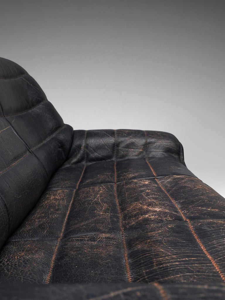 De Sede 'DS84' Sofa in Black Leather 3