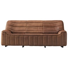 De Sede 'DS84' Sofa in Brown Leather