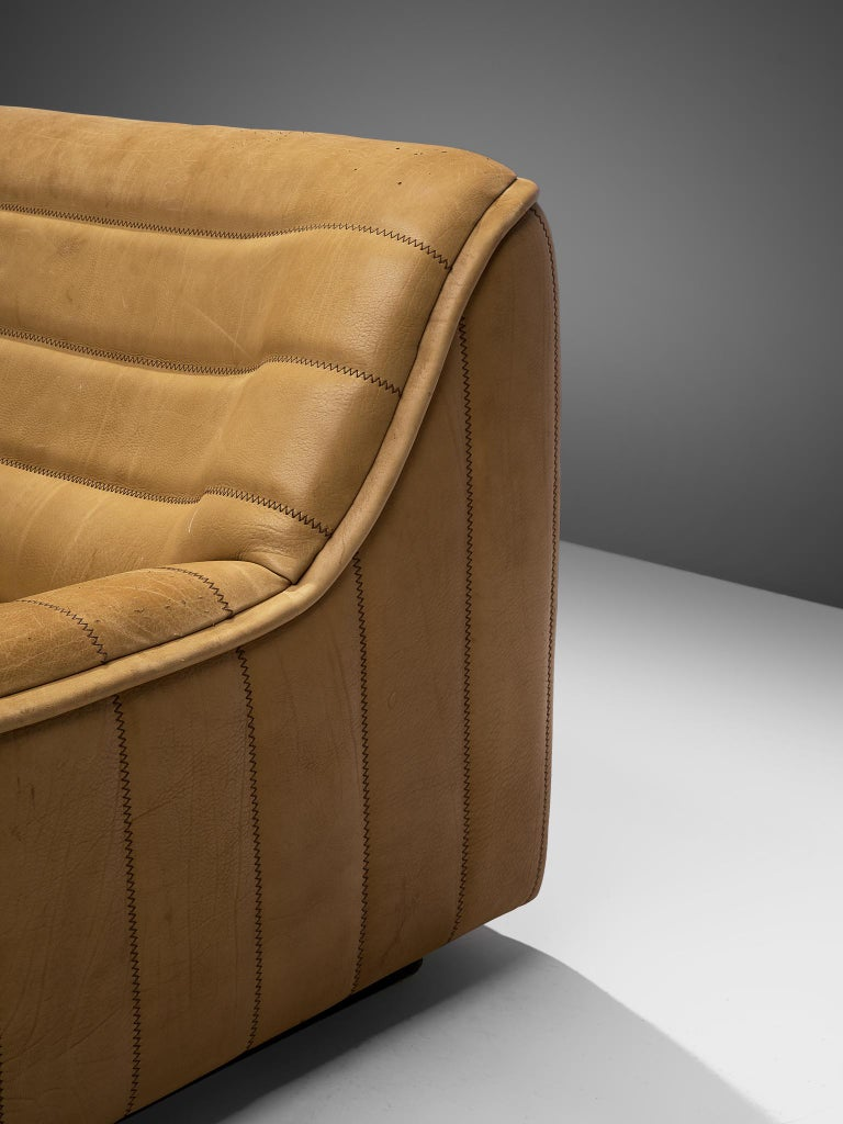 De Sede 'DS84' Sofa in Buffalo Leather For Sale 3