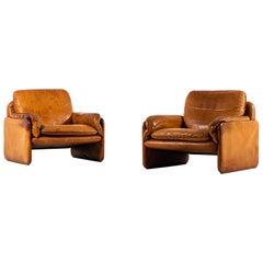De Sede Easy Chairs Model DS-61 by De Sede in Switzerland