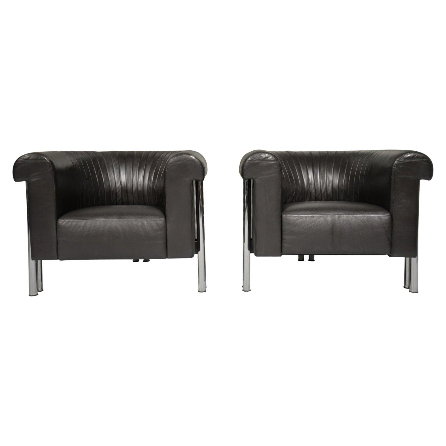 De Sede DS 700 Executive Lounge Armchairs, Switzerland, 1980s