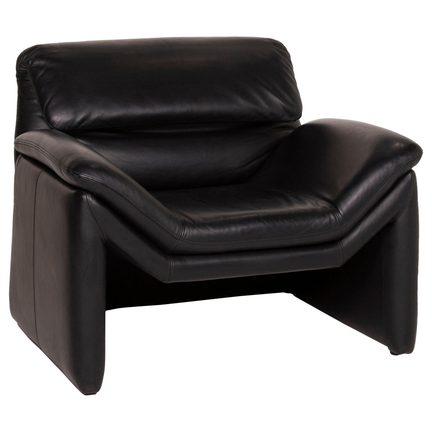 De Sede Hans Kaufeld Leather Armchair Black Function