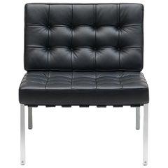 De Sede KT-221 Armchair in Black Upholstery by Kurt Thut
