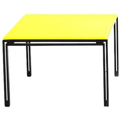 De Sede KT-221 Table in Yellow Upholstery by Kurt Thut