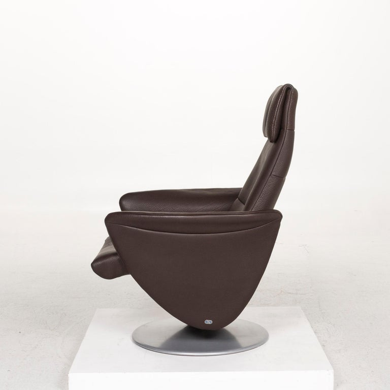 De Sede Leather Armchair Brown Dark Brown Function Relax Function Relax Armchair 5
