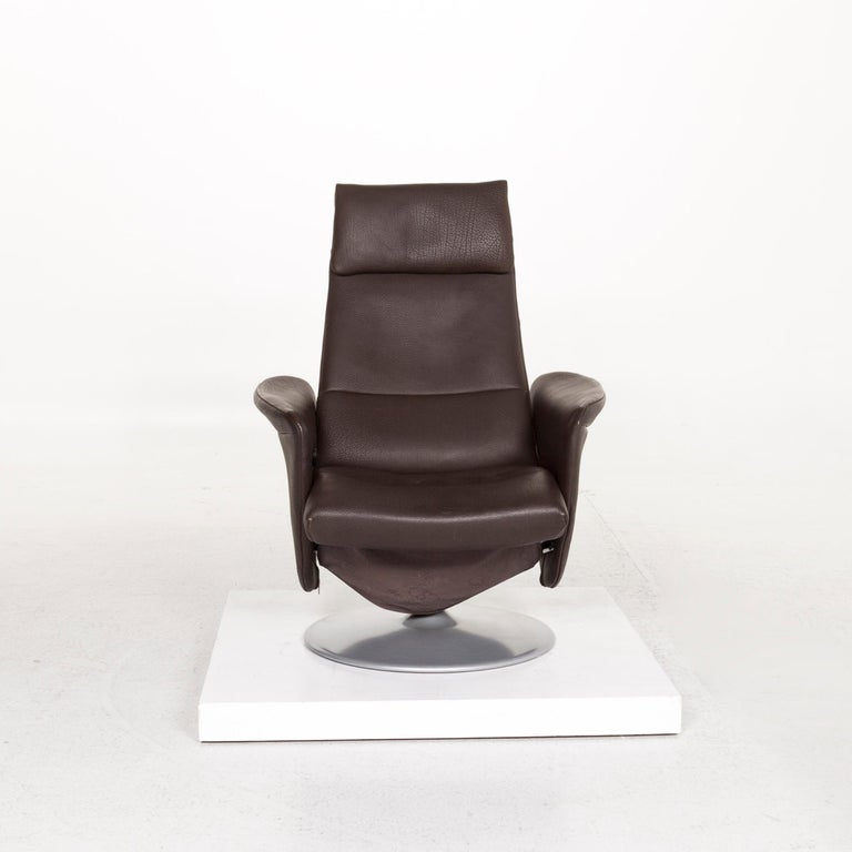 De Sede Leather Armchair Brown Dark Brown Function Relax Function Relax Armchair 1
