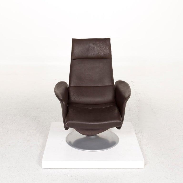 De Sede Leather Armchair Brown Dark Brown Function Relax Function Relax Armchair 2