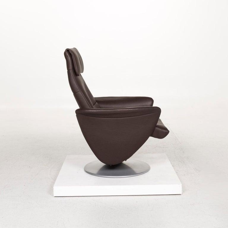 De Sede Leather Armchair Brown Dark Brown Function Relax Function Relax Armchair 3