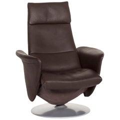 De Sede Leather Armchair Brown Dark Brown Function Relax Function Relax Armchair