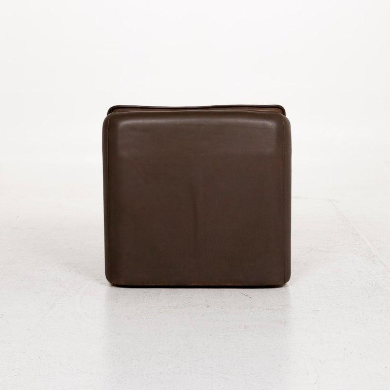 De Sede Leather Armchair Brown For Sale 2