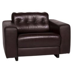 De Sede Leather Armchair Brown