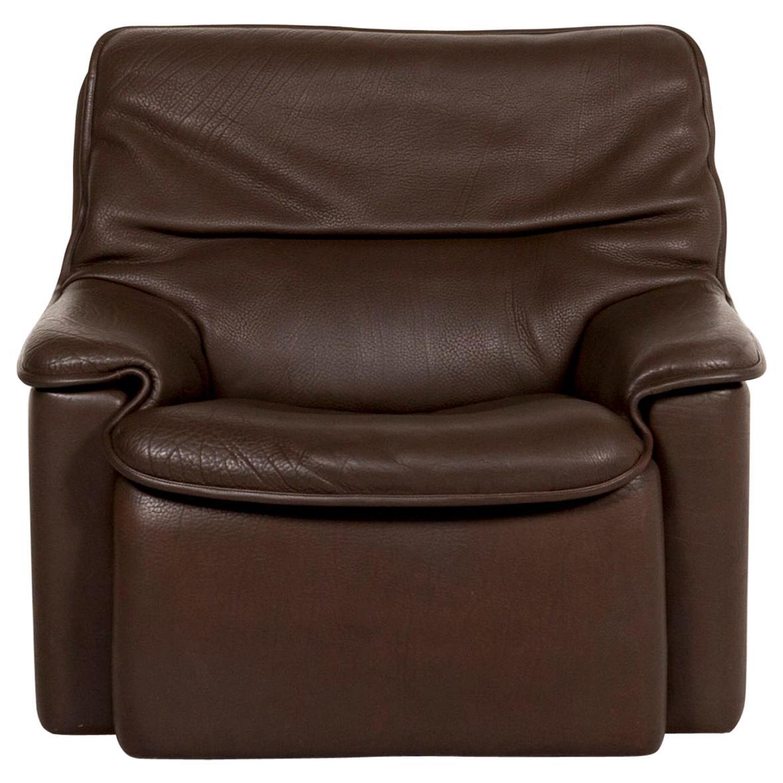 De Sede Leather Armchair Brown