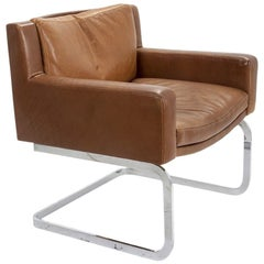 De Sede Leather Armchair by Robert Haussmann