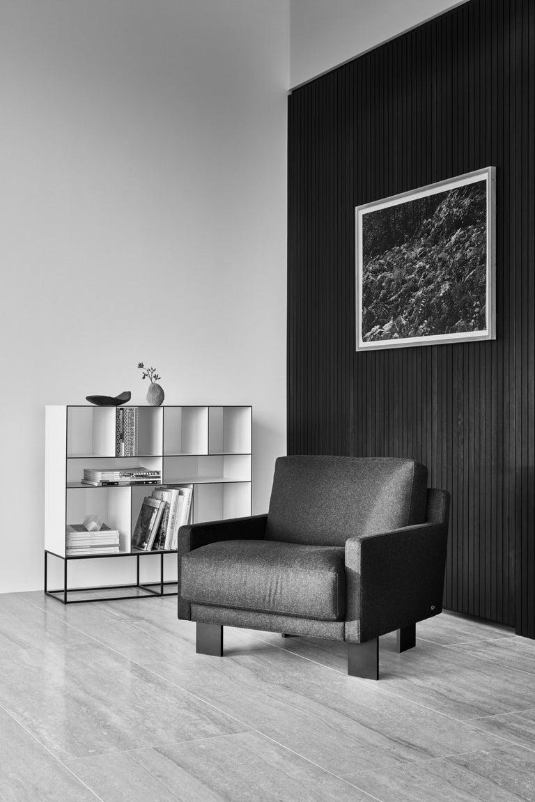 Swiss De Sede Leather Armchair by Stephan Hürlemann