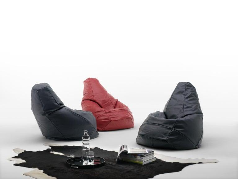 DS-9087/60 beanbag chair by De Sede. Styrofoam ball filling.
