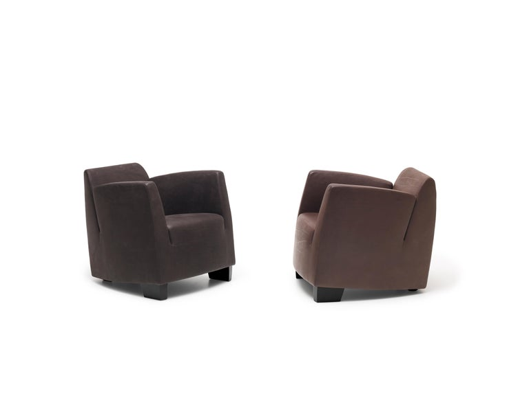 Modern De Sede Leather Club Chair by Kurt Erni For Sale