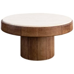 De Sede Leather Coffee Table