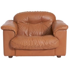 De Sede Leather DS 101 Lounge Chair