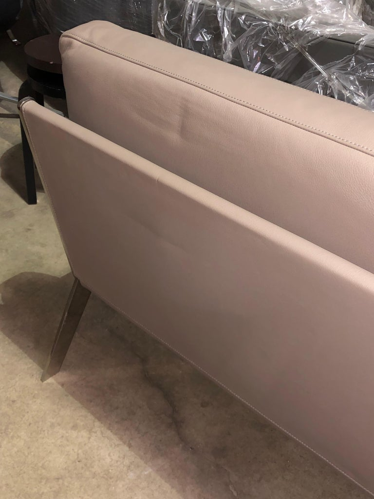 De Sede Leather DS 60 Sofa and Lounge Armchair For Sale 5