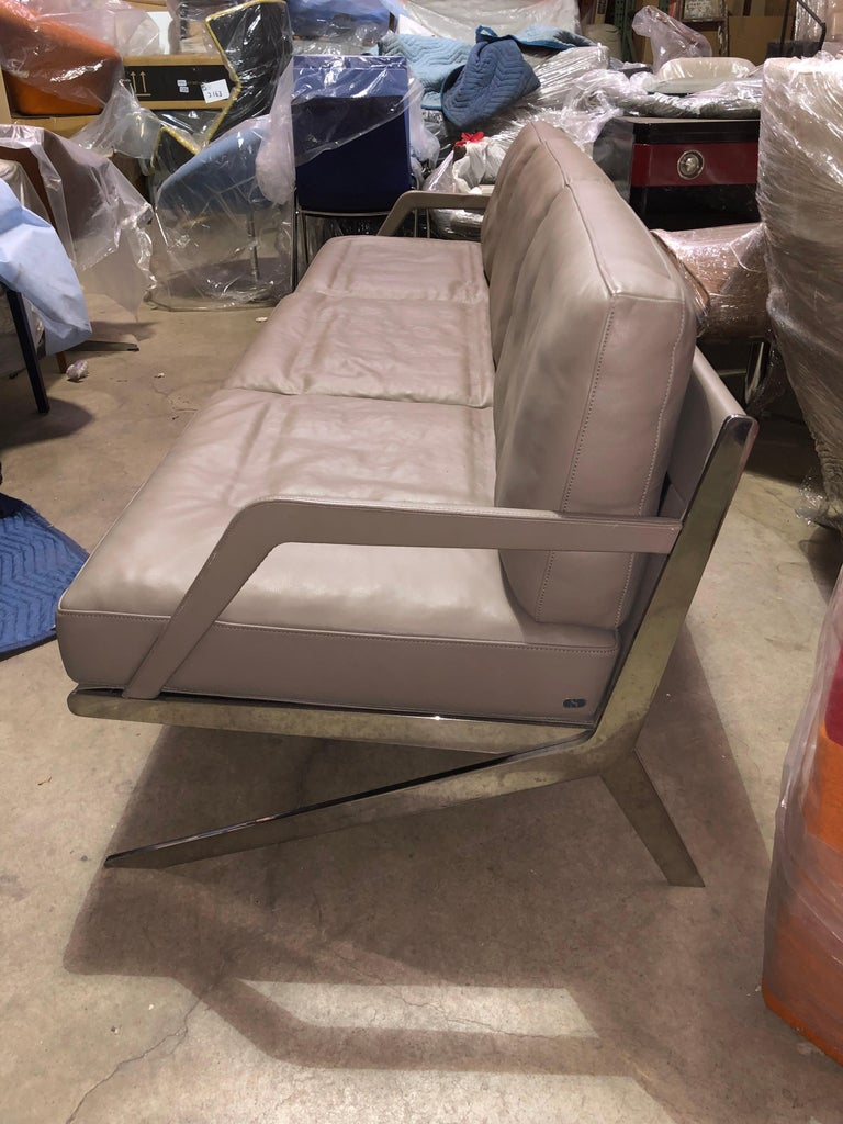 De Sede Leather DS 60 Sofa and Lounge Armchair For Sale 1