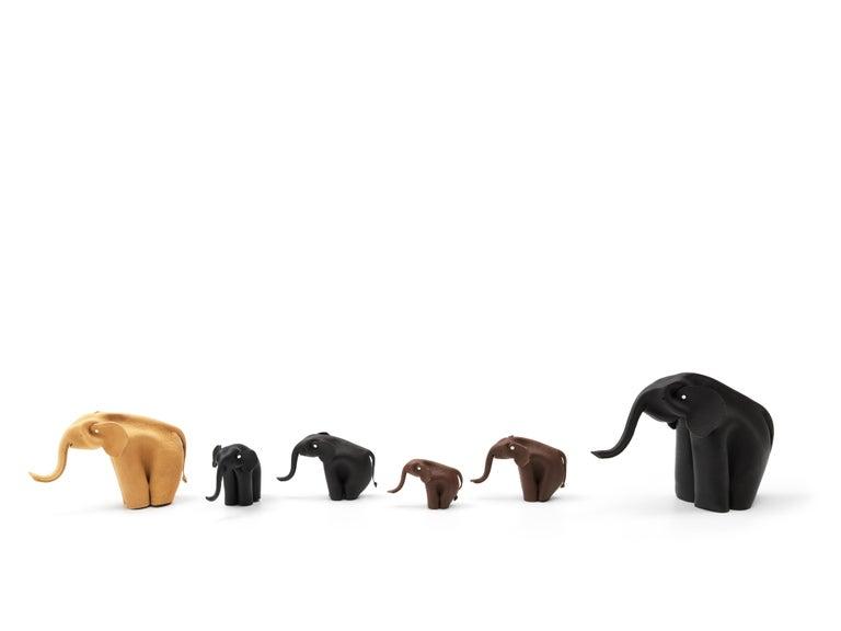 Miniature toy elephant accessory designed by Alfredo Ha¨berli for De Sede.