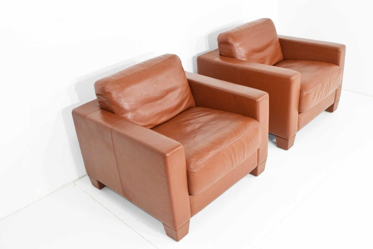 Modern De Sede Leather Lounge Chairs For Sale