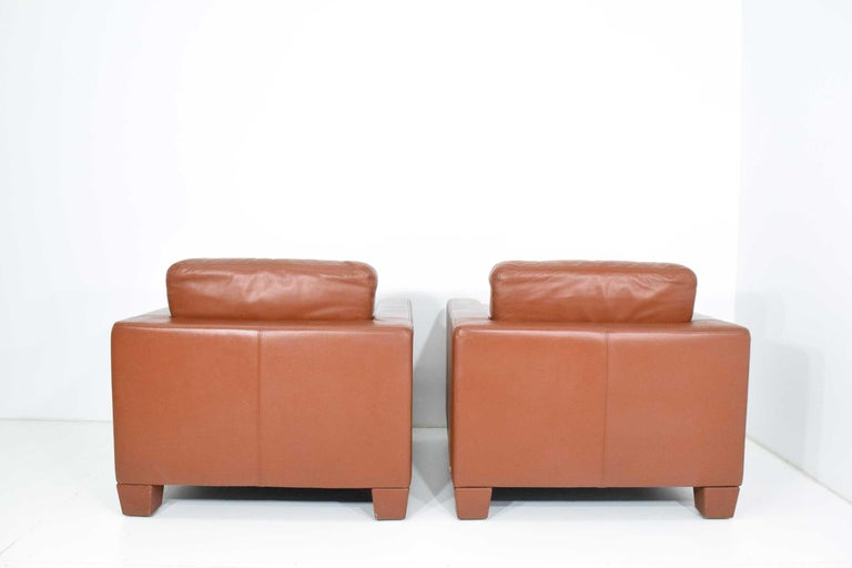 Contemporary De Sede Leather Lounge Chairs For Sale