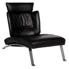 De Sede Leather Lounger Black Function Relax Lounger