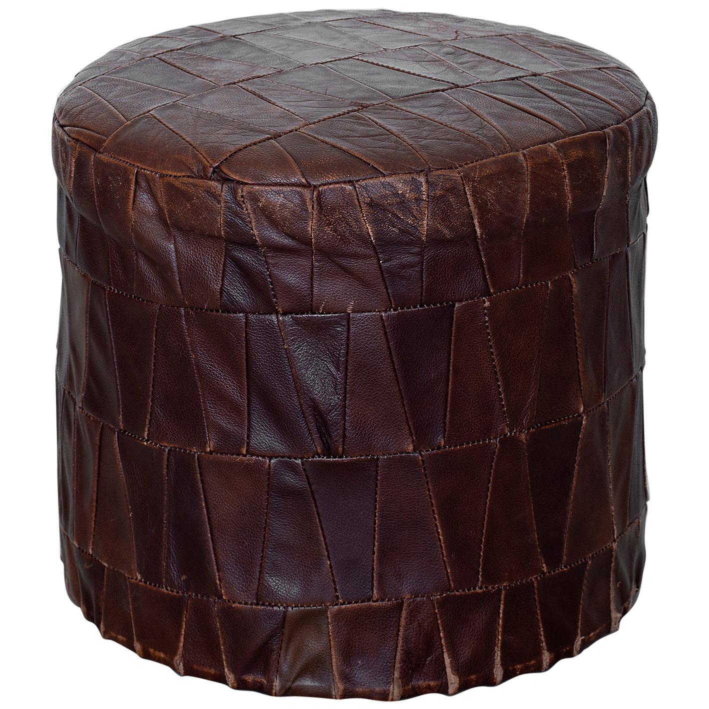 De Sede Leather Ottoman