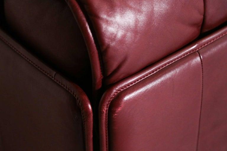 De Sede Leather Sofa Bed, 1970s Swiss Design DS85 DS600 For Sale 5